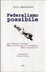 Federalismo possibile
