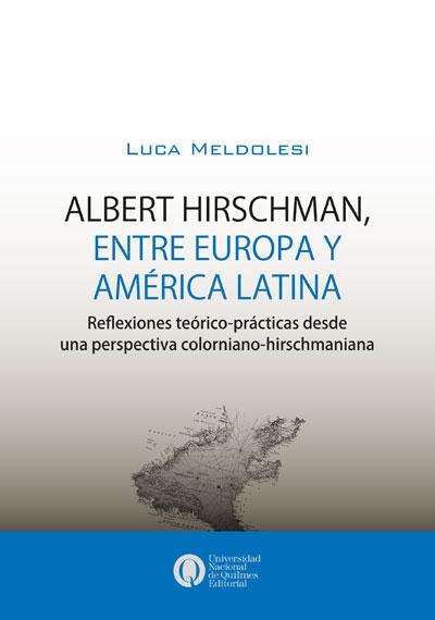 albert hirschmna, entre europa y america latina